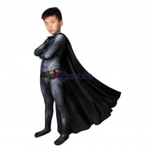 Batman V Superman Batman Bruce Wayne Cosplay Jumpsuit for Kids