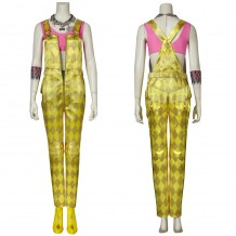 Birds of Prey Harley Quinn Yellow Cosplay Costume With Accessories
