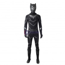 Black Panther Costume T'Challa Cosplay Suit Full set