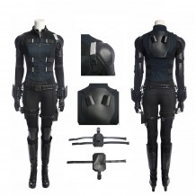 Black Widow Costume Avengers Infinity War Natasha Romanoff Cosplay Suit