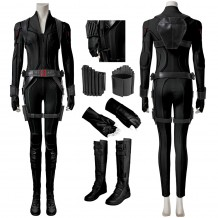 Black Widow Natasha Romanoff Black Cosplay Suit