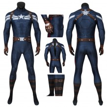 Captain America: The Winter Soldier Jumpsuit Steve Rogers Cosplay Costume