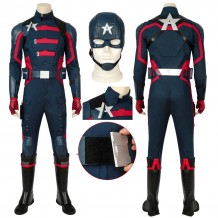 Captain America U.S. Agent Cosplay Costume The Falcon And The Winter Soldier Suit