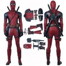 Deadpool 2 Wade Wilson Costume Cosplay Suit Full set