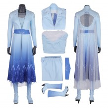 Elsa Cosplay Costume Frozen 2 Cosplay Outfit