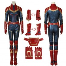 Film Captain Marvel Ms. Marvel Carol Danvers Cosplay Costume Upgrade