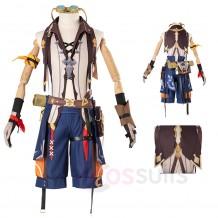 Genshin Impact Bennett Cosplay Costume Bennett Suit