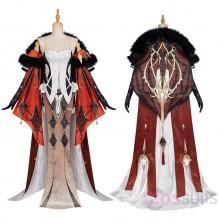 Genshin Impact La Signora Cosplay Costumes La Signora Cosplay Suit