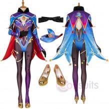 Genshin Impact Mona Cosplay Costumes Mona Cosplay Suit
