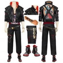 Jackie Welles Cosplay Costume Cyberpunk 2077 Cosplay Suit