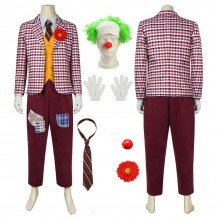2019 Joker Cosplay Costume Arthur Fleck Cosplay Suits