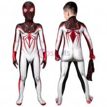 Kids PS5 Spider-Man: Miles Morales T.R.A.C.K Jumpsuit Cosplay Costume