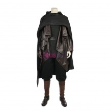 Luke Skywalker Black Cosplay Costume Star Wars 8 The Last Jedi Cosplay Suit
