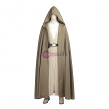 Luke Skywalker Cosplay Costume Star Wars 8 The Last Jedi Cosplay Suit