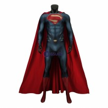 Man of Steel Superman Clark Kent Cosplay Suit 3D Printed
