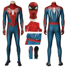PS4 Spider-Man Advanced Suit Spiderman Cosplay Costume