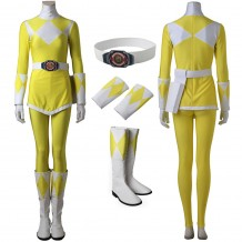 Mighty Morphin Power Rangers Trini Kwan Yellow Ranger Cosplay Costume