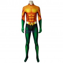 New Aquaman Jumpsuit Arthur Curry Cosplay Costume