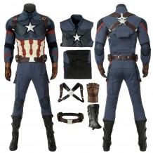New Avengers: Endgame Costume Captain America Steven Rogers Cosplay