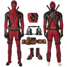 Deadpool 2 Wade Wilson Cosplay Costume Deluxe Suits