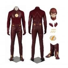 The Flash Season 2 Barry Allen Costume Cosplay Suit