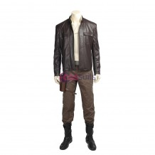 Poe Dameron Cosplay Costume Star Wars 8 The Last Jedi Outfits