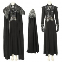 Sansa Stark Cosplay Suit With Cloak Game of Thrones Season 8 Costume