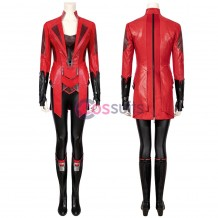 Scarlet Witch Costume Scarlet Witch Wanda Maximoff Cosplay Suit