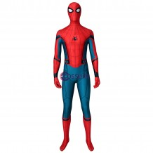 Spider-Man Civil War Costume Spider-Man Homecoming Jumpsuit