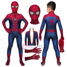 Spider-man Costumes for Kids The Amazing Spiderman Cosplay Suit