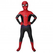 Kids Spider-Man Suits Far From Home Peter Parker Cosplay Jumpsuit