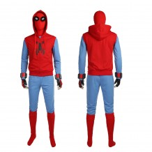 Spider-Man Homecoming Peter Parker Spiderman Costume Cosplay Suit