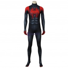 Spider-Man: Into the Spider-Verse Miles Morales Cosplay Costume Jumpsuit