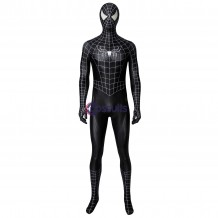 Spider-Man 3 Venom Jumpsuit Eddie Brock Cosplay Costume