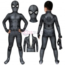 Spider-man Kids Costume Spiderman Far From Home Peter Parker Night Monkey Stealth Suit