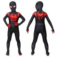 Spiderman: Into The Spider-Verse Miles Morales Jumpsuit For Kids