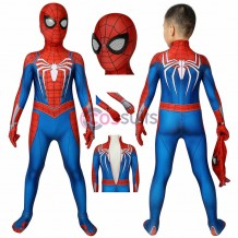 Spiderman Kids Suits Spiderman PS4 Cosplay Costume