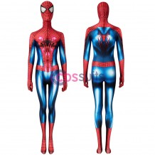 Spiderman Women's Costume The Amazing Spiderman 2 Peter Parker Cosplay Jumpsuit
