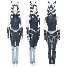 Star Wars The Clone Wars Ahsoka Tano Cosplay Costume