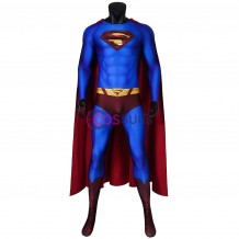 Superman Returns Clark Kent Jumpsuit Cosplay Costume