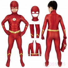 The Flash Costume For Kids The Flash Season 6 Barry Allen Cosplay Suit