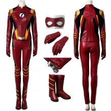 The Flash Season 3  Jesse Quick Cosplay Costume