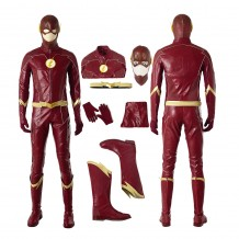 The Flash Season 4 Barry Allen Costume Cosplay Suit