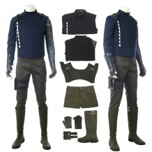 The Winter Soldier Costume Bucky Barnes Cosplay Suit