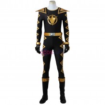 Tommy Oliver Cosplay Costume Power Rangers Dino Thunder Black Ranger Costume