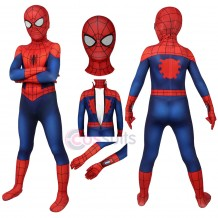Kids Ultimate Spider-Man Suit Peter Parker Cosplay Costume