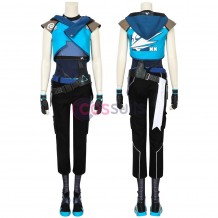 Valorant Jett Costume Valorant Jett Cosplay Suit