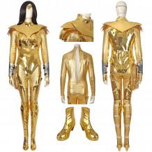 Wonder Woman 1984 Costumes Diana Prince Golden Cosplay Suit