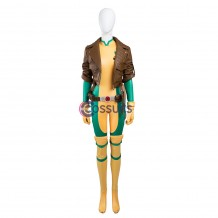 X-Men Rogue Anna Marie Comic Cosplay Costume