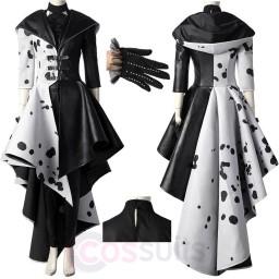 Cruella Costume Cruella De Vil Cosplay Suit